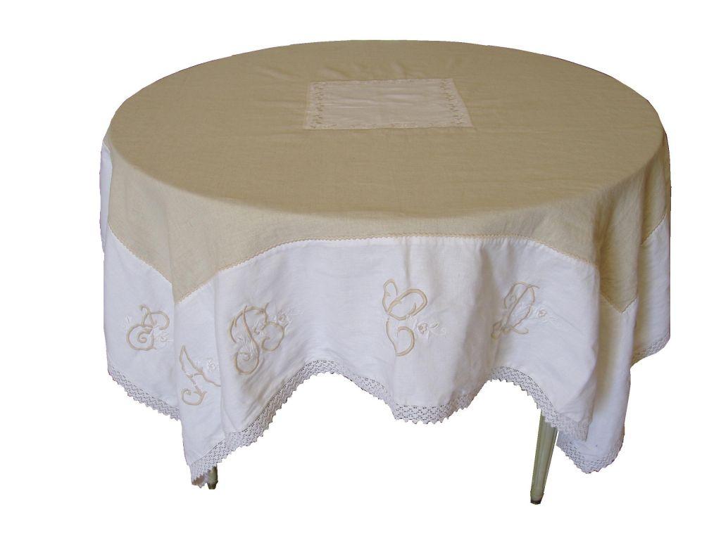Nappe for Une nappe de table