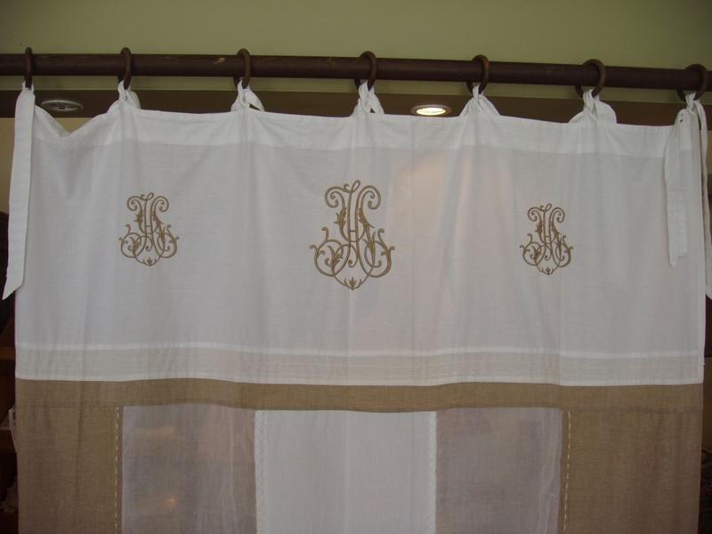 rideau antique autrefois decolux